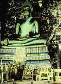 Sculpture of Buddha in Temple